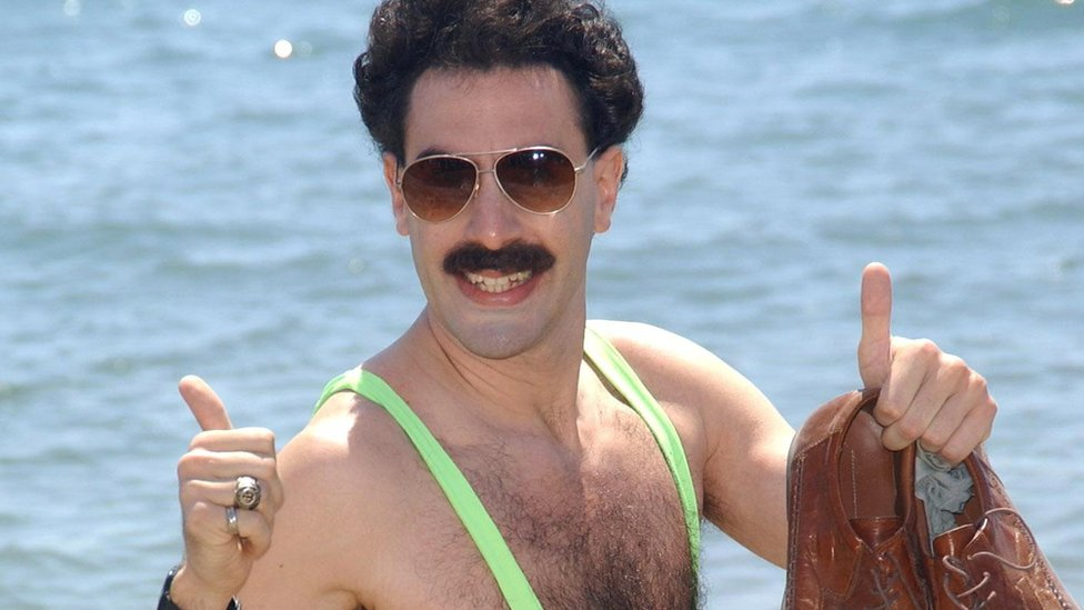 Sacha Baron Cohen offers to pay 'Borat' mankini fines