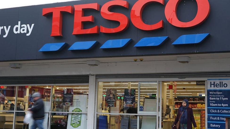 La cadena de supermercados Tesco ofrece almuerzos por US$5,59.