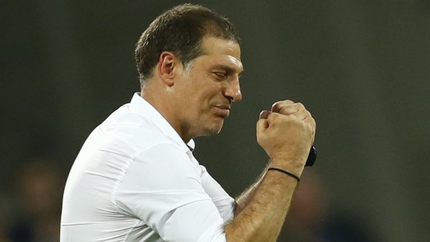 Bilic 'angry' at West Ham's Europa League exit