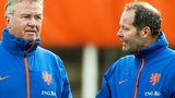 Gus Hiddink and Danny Blind