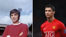 Best and Ronaldo