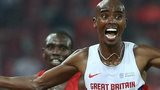 Mo Farah wins the world 10,000m title in Beijing