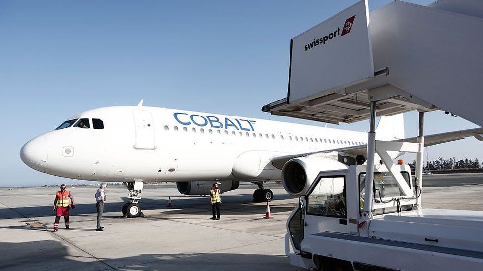 Cypriot budget airline Cobalt has suspended operations