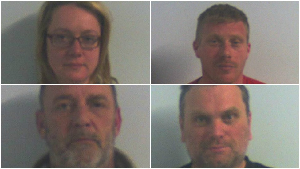 Pembrokeshire drugs gang jailed for £1m cocaine shipping