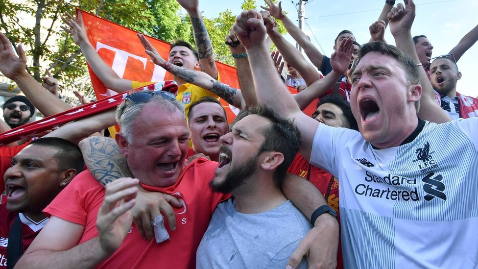 Champions League final: Fans set out for Kiev after flight cancellations