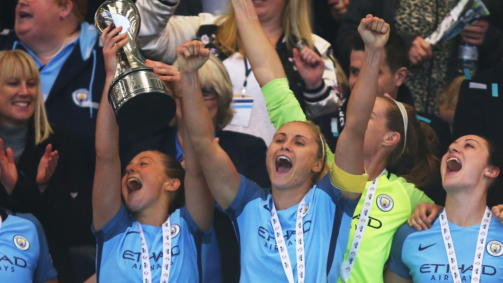 Women's Super League: FA still hopeful of sponsors for revamped divisions