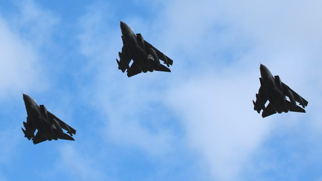 RAF Tornados make final East of England flypasts