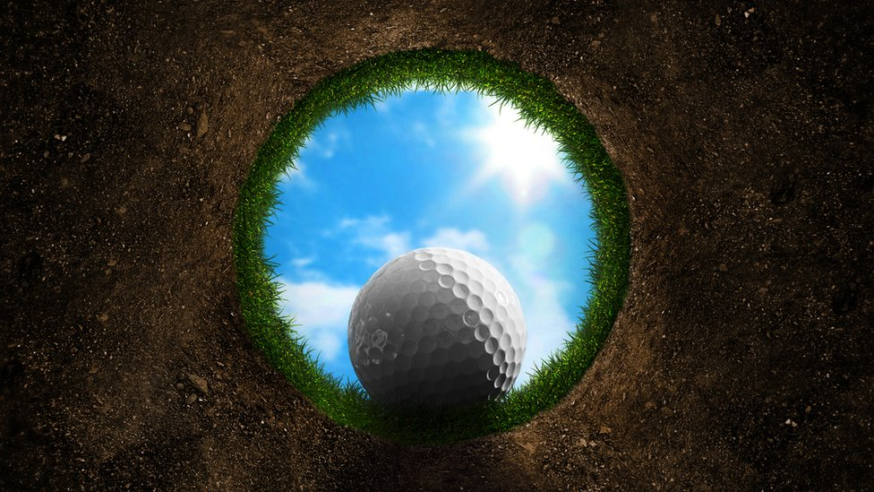 Hoyo de golf