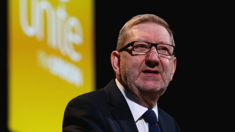 Len McCluskey 're-elected as Unite general secretary'