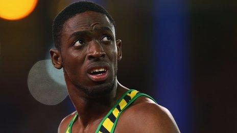 Jamaican sprinter Bailey-Cole 'has Zika virus'