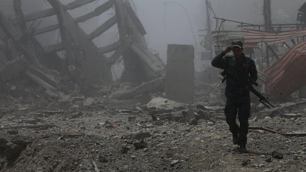 عنصر من القوات العراقية
