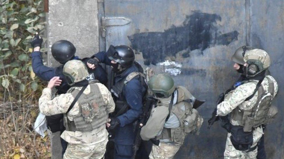 Georgia siege: Four dead in Tbilisi 'terror' raid