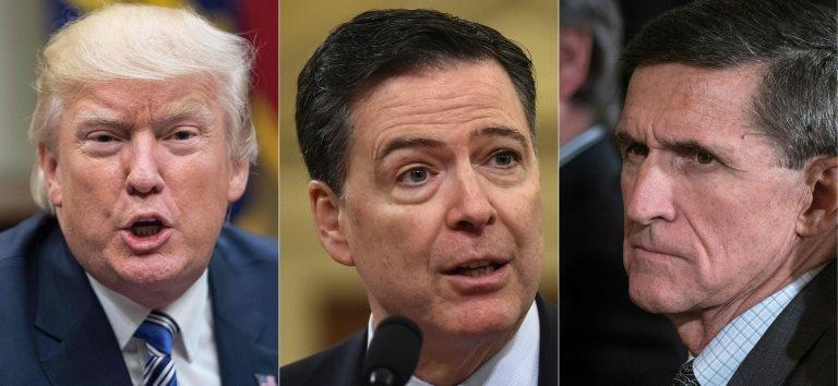 Trump, Comey y Flynn