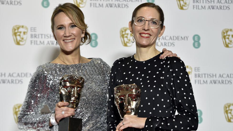 Meet The Favourite's Bafta-winning working mums