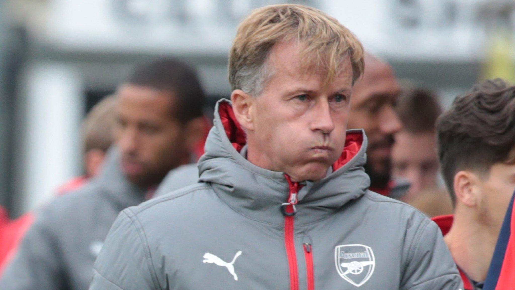 Andries Jonker: Wolfsburg appoint Arsenal academy boss as third head coach of season