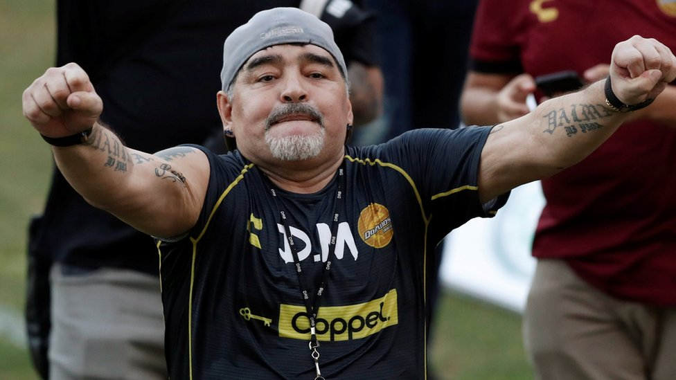 Diego Maradona starts coaching job at Mexican side Dorados