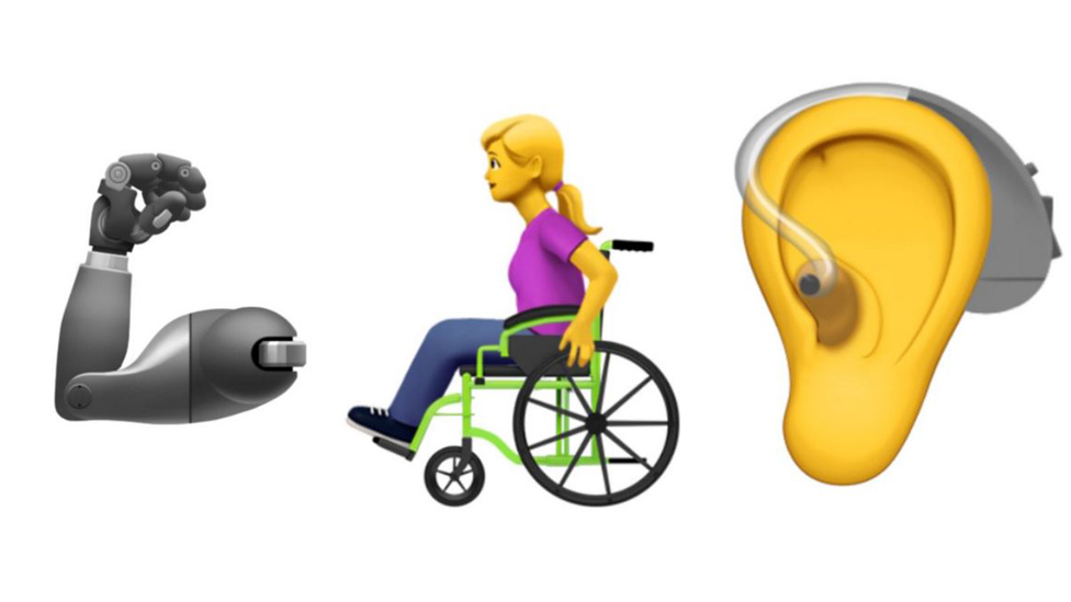Apple wants to introduce new emojis for disabled people