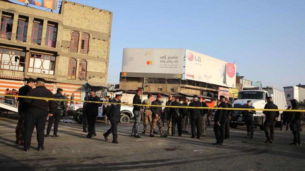 Від вибухів в Багдаді загинуло щонайменше 35 людей