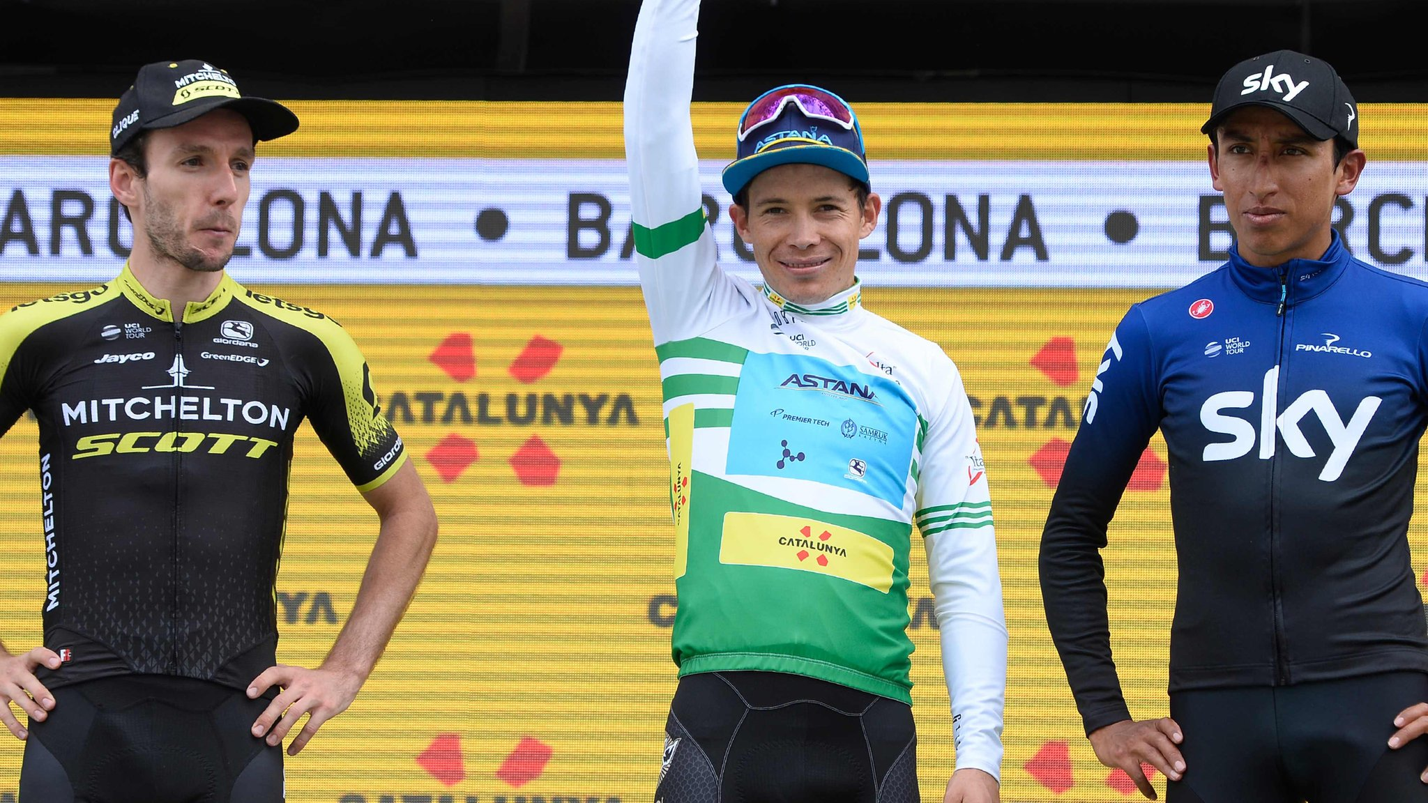 Yates finishes runner-up at Volta a Catalunya