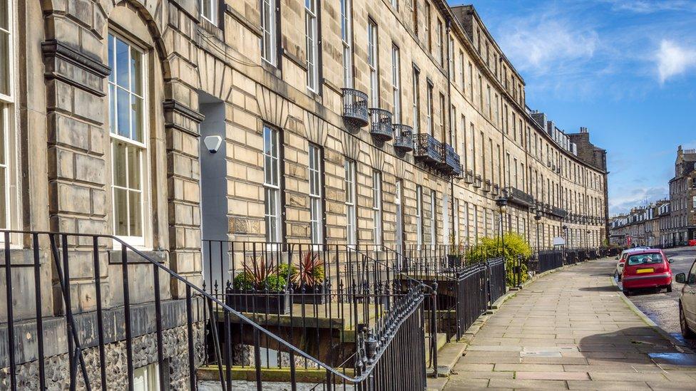 Edinburgh pays top share of property tax