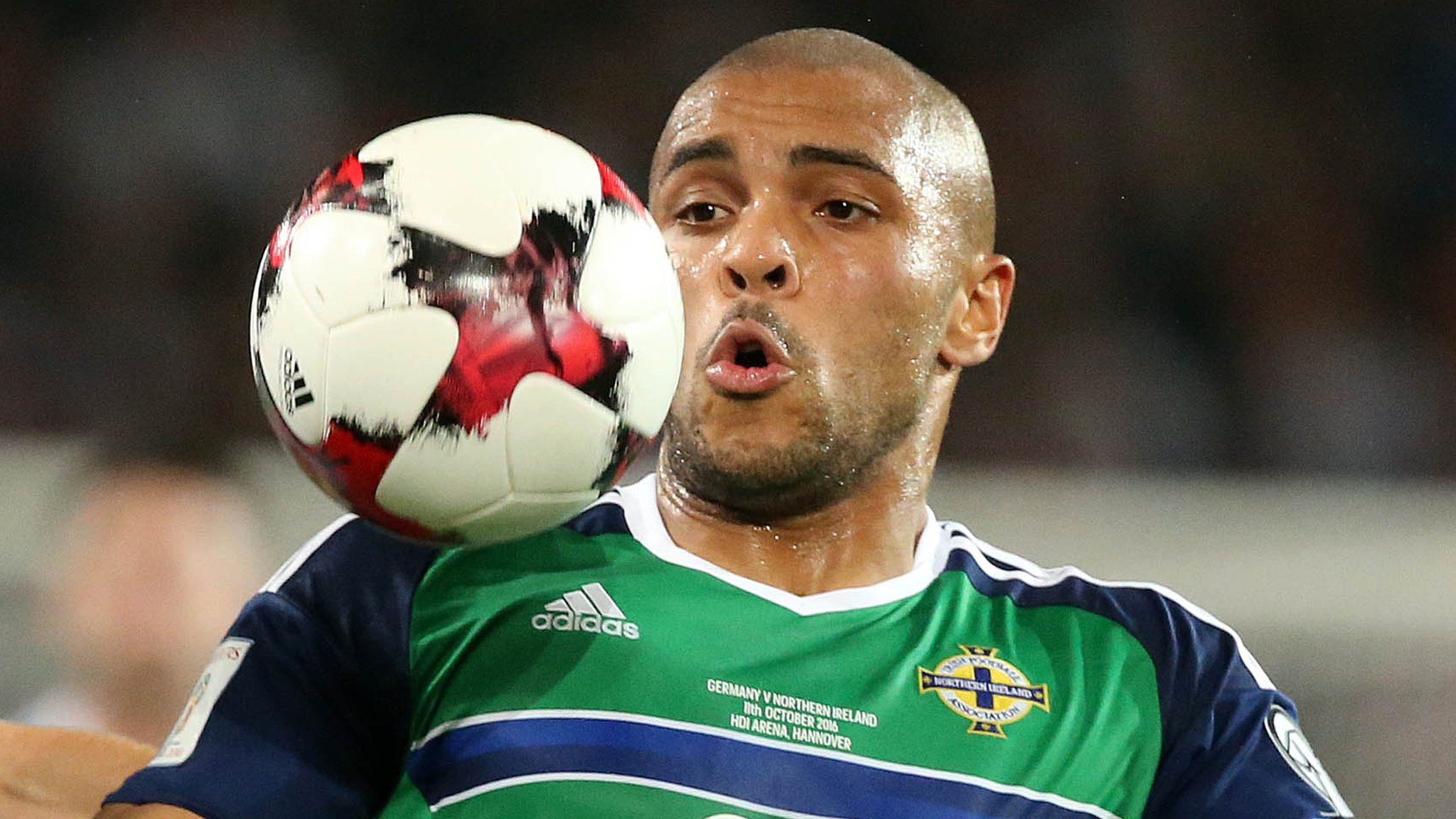 World Cup 2018: Josh Magennis injury concern for Northern Ireland