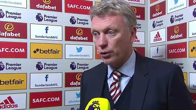 Sunderland 2-1 Leicester: Black Cats deserved Leicester victory - David Moyes