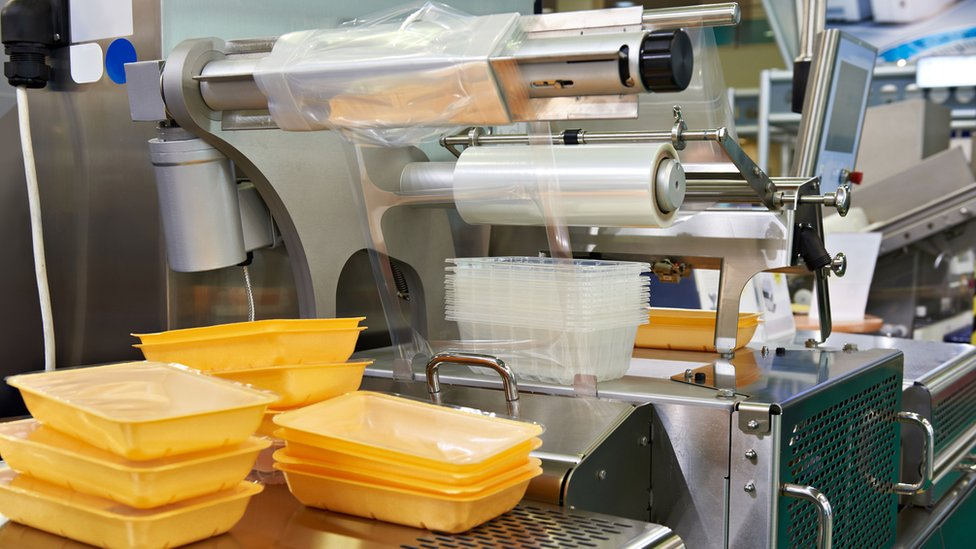 Productos de plástico para la industria de la alimentación