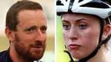 Sir Bradley Wiggins and Laura Trott