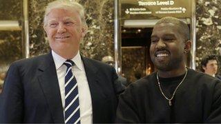 BBC - Newsbeat - Kanye West deletes tweets about meeting Donald Trump