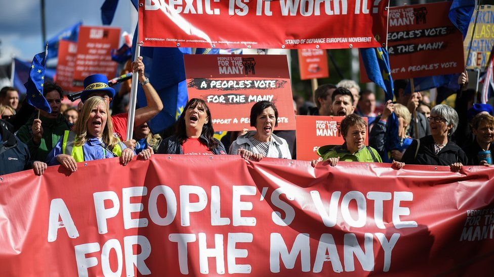 March to call for People's Vote on Brexit