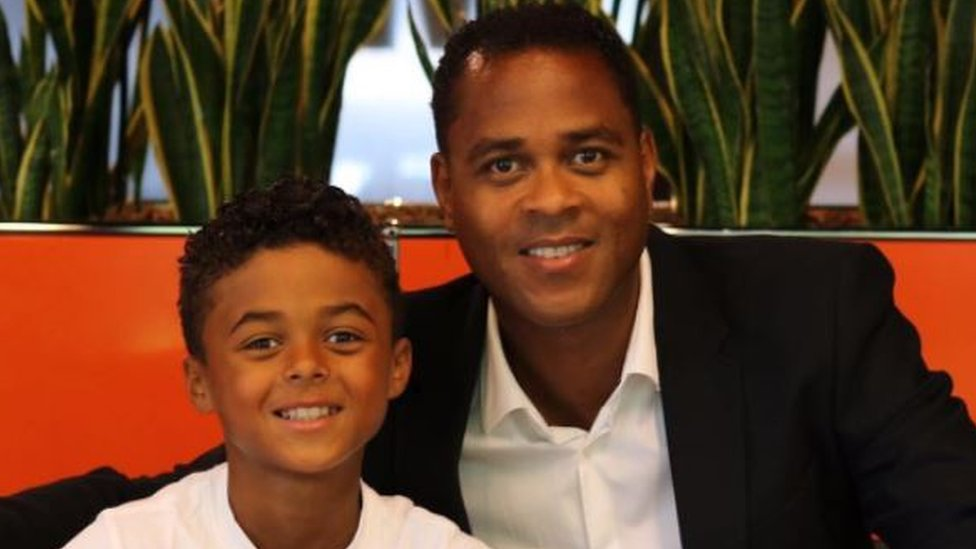 Shane Kluivert: Patrick Kluiverts nine-year-old son signs Nike deal