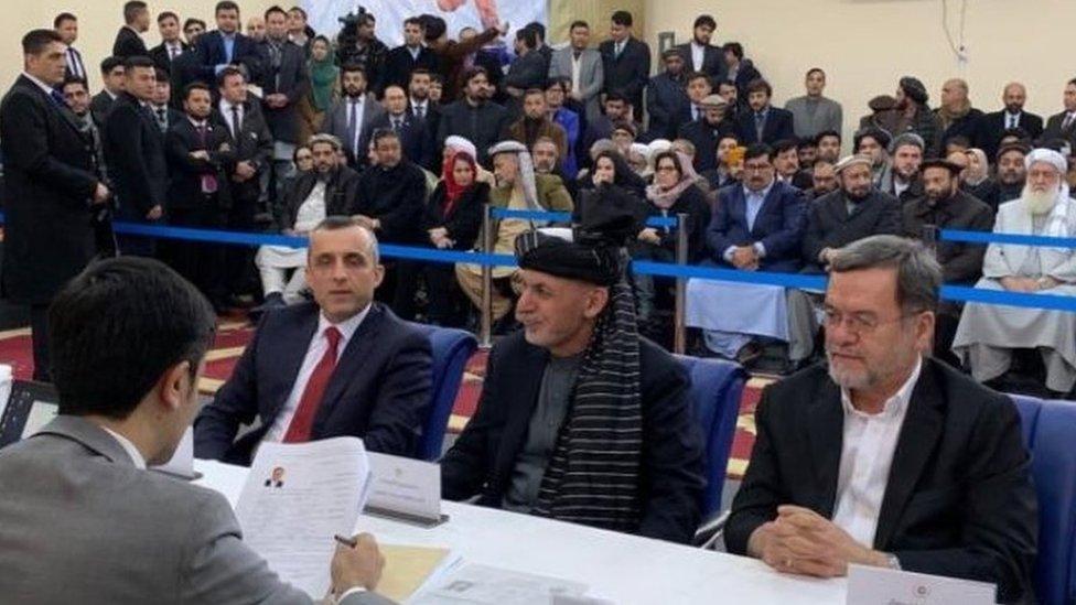 افغان ټاکنې: ولسمشر غني او ډاکټر عبدالله هم ځانونه کاندید کړل