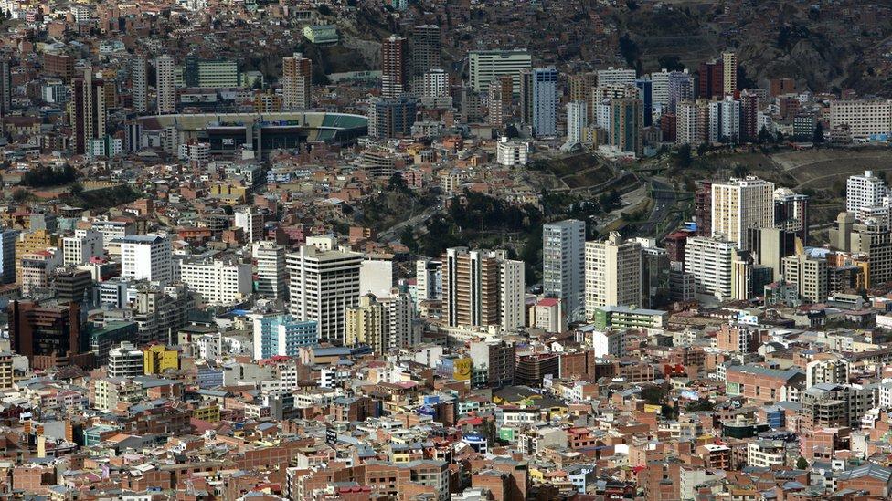 Según las proyecciones del FMI Bolivia crecerá este año un 4,2% y el próximo un 4%.