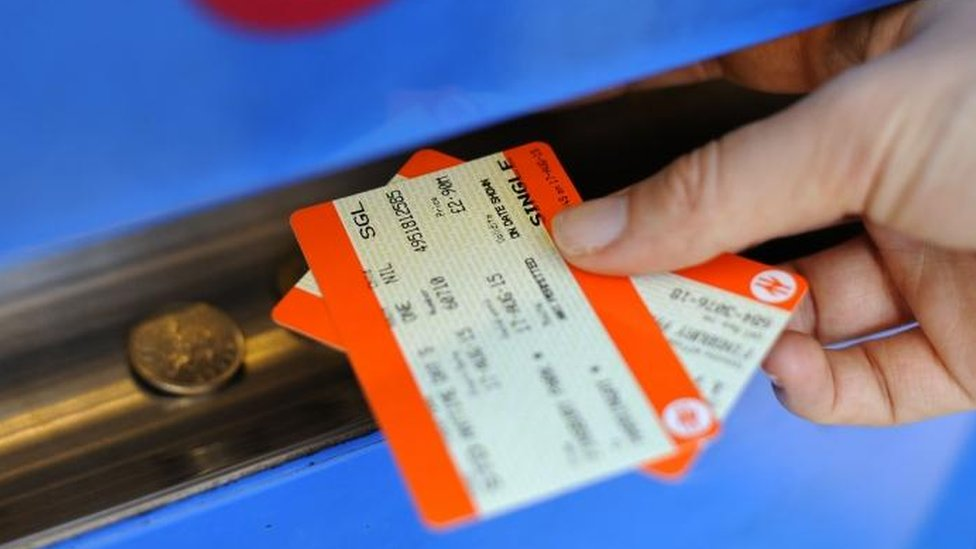 Train fares to rise by average of 2.3%