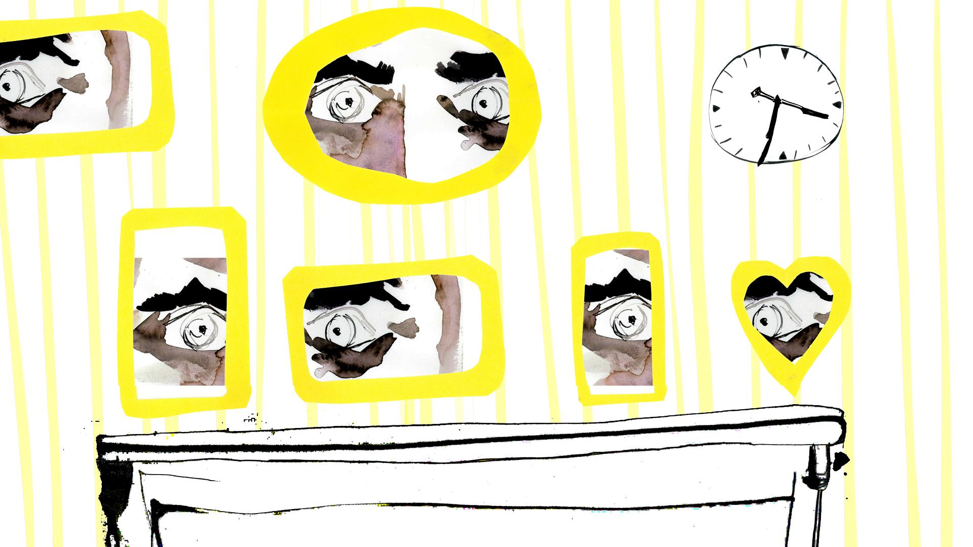 Ilustración de ojos