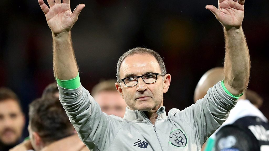 Republic manager Martin O'Neill happy to have Denmark at home in second leg