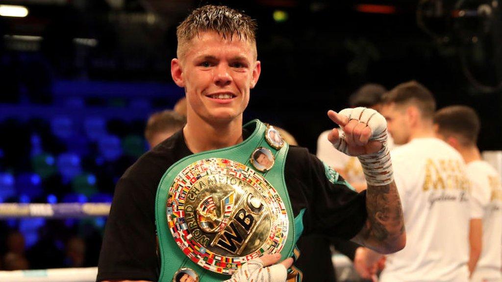 Charlie Edwards beats Angel Moreno, as Joshua Buatsi claims British title