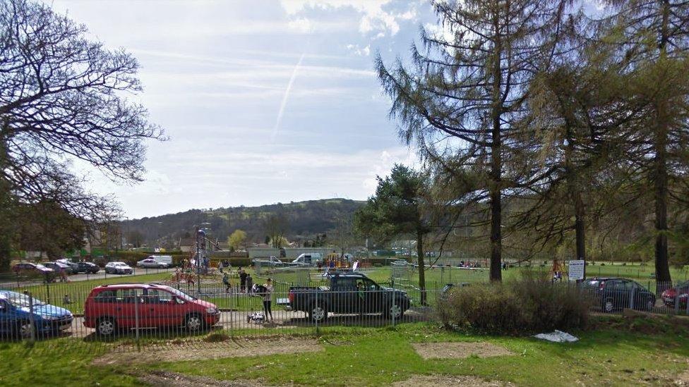 Boy, 13, dead after found unconscious in Ystrad Mynach park