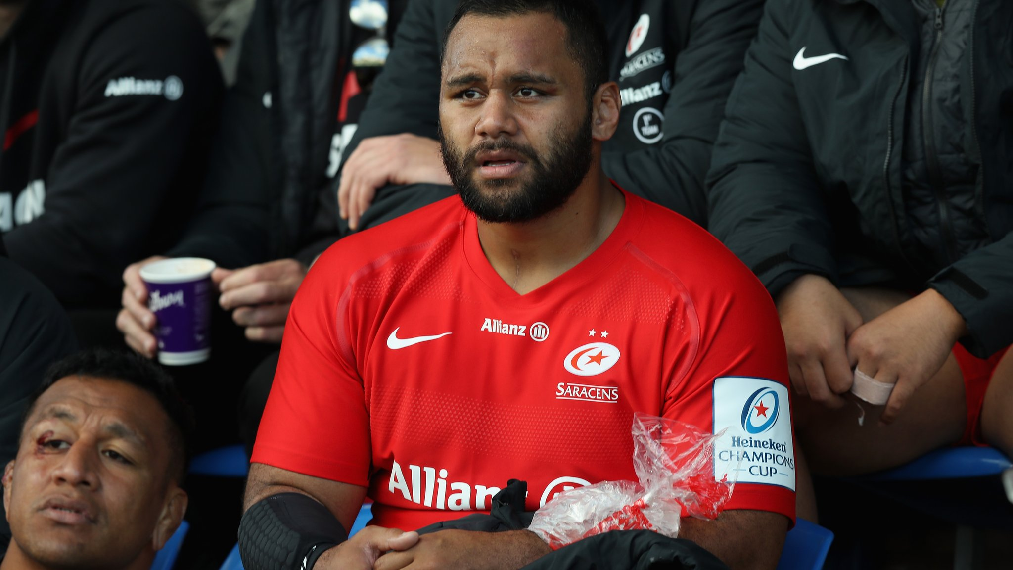 Billy Vunipola: Saracens forward out of England's autumn internationals