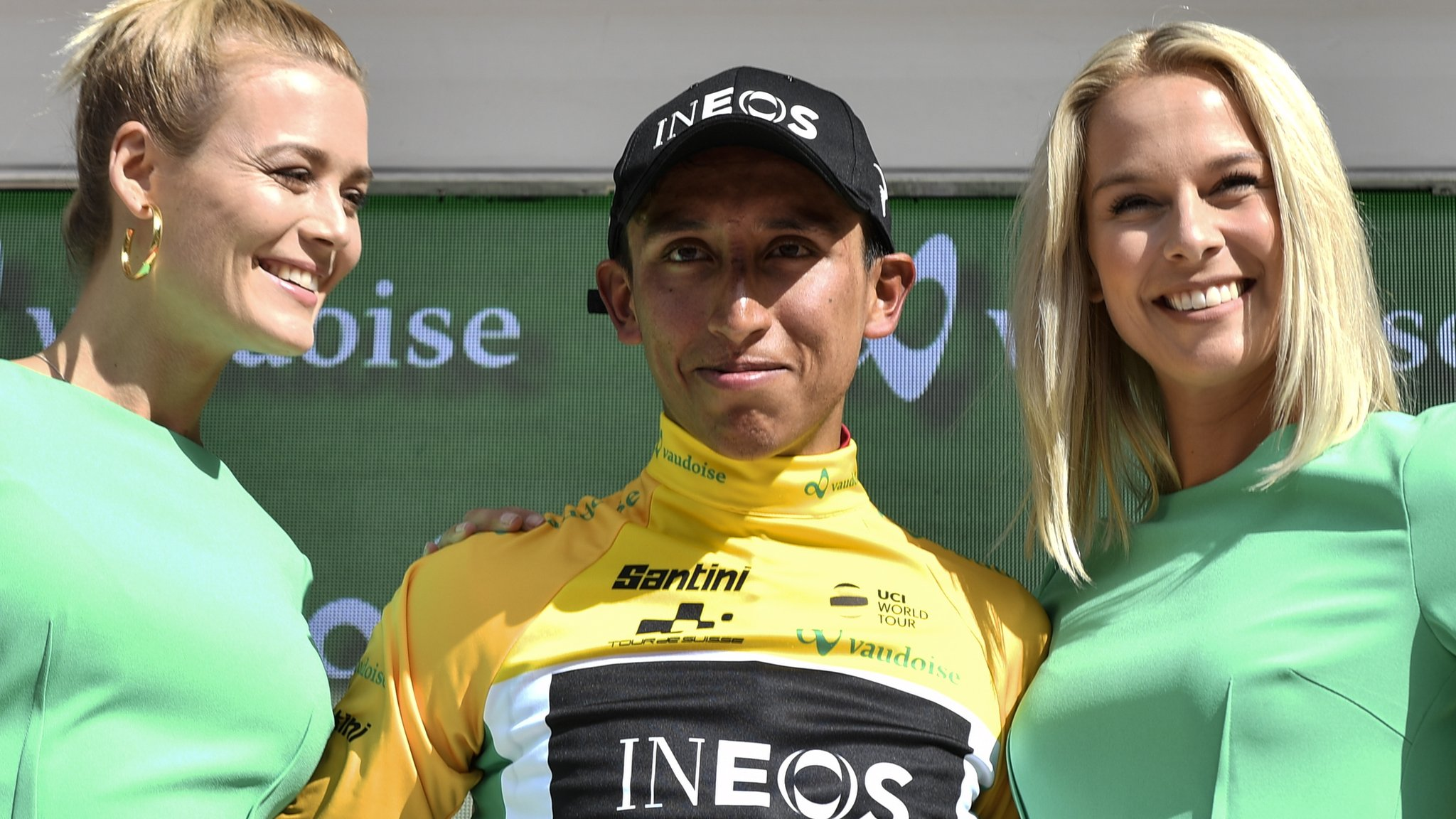 Tour of Switerland: Egan Bernal takes overall lead as Antwan Tolhoek wins stage six
