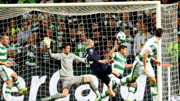 Celtic vs Malmo FF