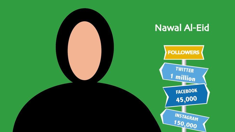 Nawal Al-Eid: the female preacher