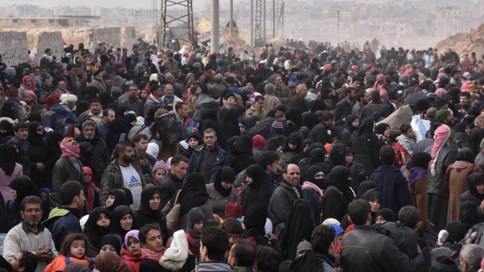 فارون من شرقي حلب