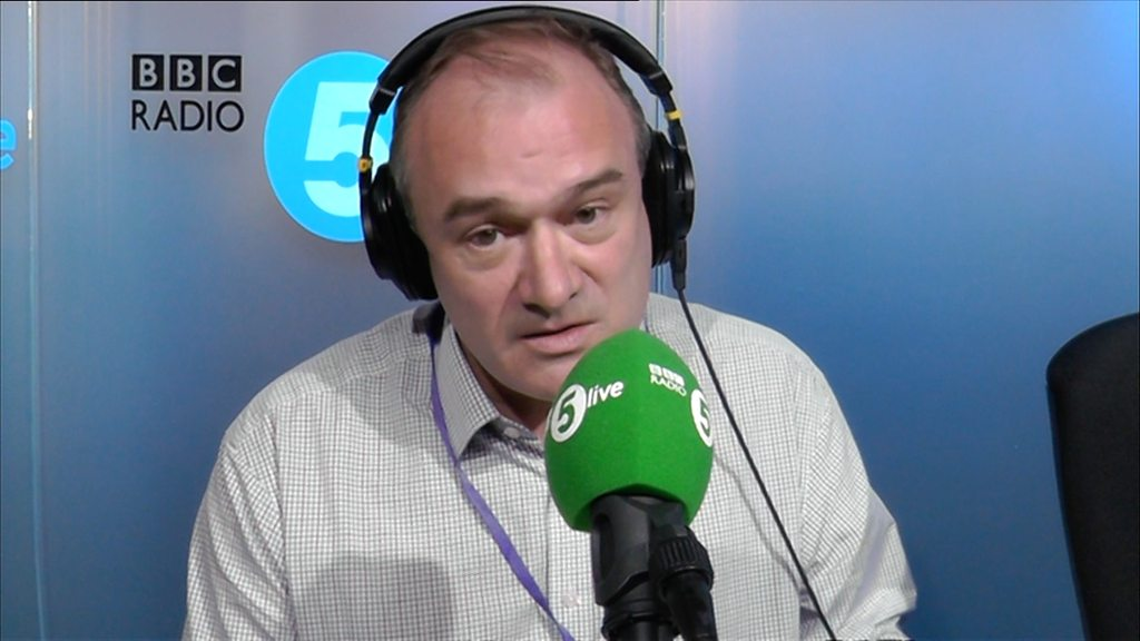 Ed Davey: 'Losing both parents meant I grew up early'