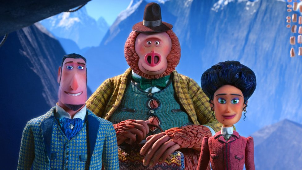 Golden Globes 2020: Missing Link is the animated film of the year! - CBBC Newsround