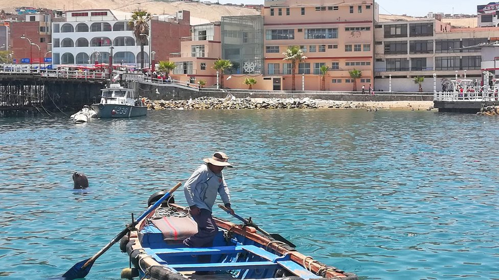 El puerto de Ilo se encuentra en pleno casco urbano. (Foto: S. G.)