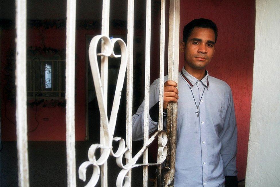 Michell Parra, quien conoció a Juan Carlos Sánchez Latorre en Venezuela. (Foto: Humberto Matheus)