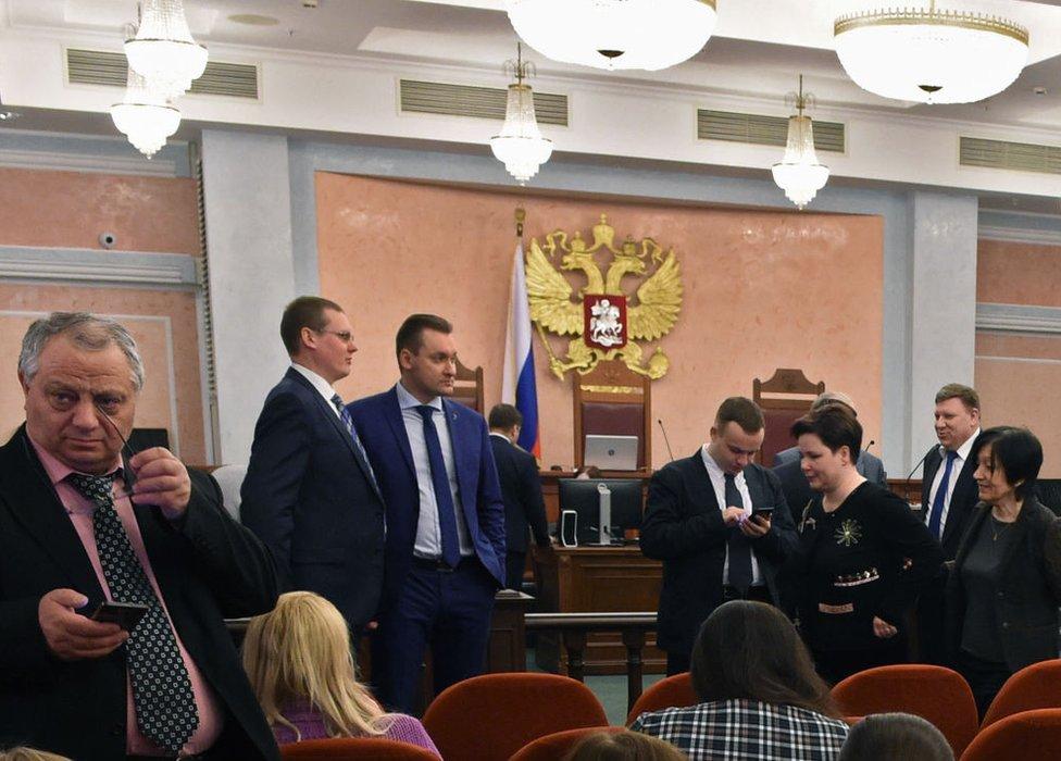 Fue el Ministerio de Justicia ruso el que presentó la demanda contra los Testigos de Jehová ante la Corte Suprema.