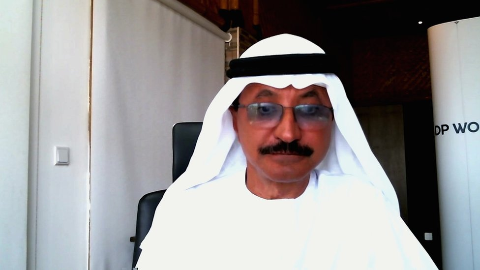 Sultan Ahmed bin Sulayem, the chairman and CEO of Dubai-based DP World