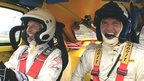 VIDEO: Button tries his hand at rallycross